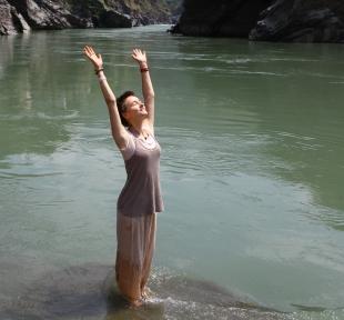 inde ganges ganga maitri yoga