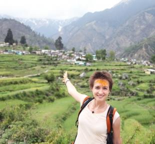 inde montagne himalaya maitri nature