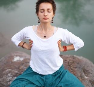pranayama respiration maitri yoga