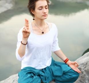 pranayama respiration mudra maitri yoga