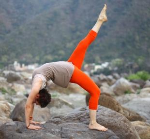 pont posture chakrasana maitri yoga